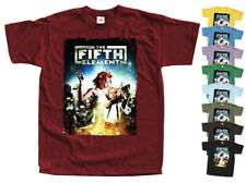 The Fifth Element 1997 T SHIRT Poster V3 red brick all sizes