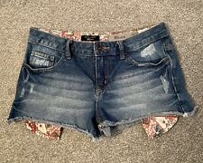 Girls New Look Denim Shorts Age 13 - Great Condition