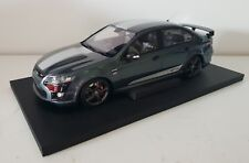 1:18 Apex Replicas Ford FPV FG Falcon GT-F - Smoke with Silver Stripes