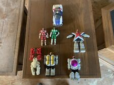 Vintage Power Rangers Transformers Toy LOT Bandai 1990's Action Figures