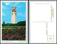 NEBRASKA Postcard - Omaha, Hillcrest Memorial Tower L9