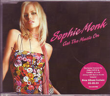 Sophie Monk Get The Music On Australian CD single signed
