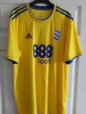 Birmingham City Adidas Climalite Away Football Shirt 2018 / 19 XL Ex Large KRO