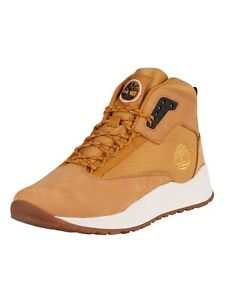 Timberland Men's Solar Wave Mid Leather Boots, Brown
