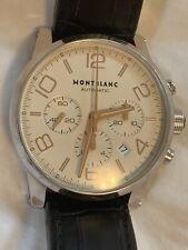 MontBlanc TimeWalker Chronograph Silver Dial Men's Watch 101549
