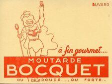 BUVARD / PUBLICITAIRE / MOUTARDE BOCQUET / YVETOT