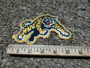 """New 1 Hamilton Tiger Cats Authentic Jersey Team Game Patch CFL 5.5"""" x 4"""""""