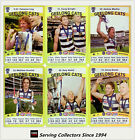 2010 AFL Teamcoach Trading Card Gold Parallel Team Set Geelong (12)
