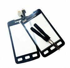 For Samsung Xcover S5690 5690 Digitizer Front Glass Touch Screen Lens Black