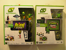 LOT of 2 NEW WowWee APPGEAR Zombie Burbz & Alien JailBreak Apple/Android Devices
