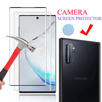 For Samsung Galaxy Note 10+ Plus 5G Full Cover Tempered Glass Screen Protector