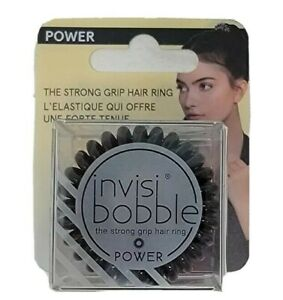Invisibobble Power Hygienic Traceless Design Strong Grip Magic Black Hair Tie