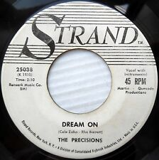 PRECISIONS doowop promo 45 YOU CAN'T PLAY GAMES / DREAM ON strong vg cond.F1470