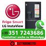 Lg Frigorifero Americano Side by Side No Frost 570 Litri Classe A+ GMX844MCKV