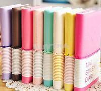 Tagebuch-Notizbuch-Memo-tragbares Minilächeln-Papier 4H