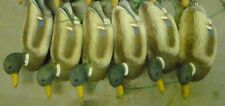 drake and hen Vintage Plastic Wood   Duck Decoys Flambeau