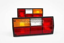 VW Transporter Caravelle T3 T25 79-92 Rear Tail Lights Lamps Pair Set OEM Hella