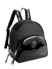 baec8eb7b546 NEW 100% GENUINE WOMEN S VERSACE BLACK BACKPACK RUCKSACK BAG