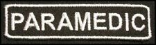 PARAMEDIC Iron-on Patch/Badge for Uniform T-Shirt Hat Cap Bag 25P