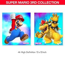 Super Mario Bros Poster 3rd Collection (2) 13x15inch  W/FoamBoard Backing