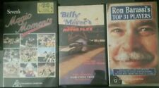 vhs  sevens magic moments, Ron Barassis top 31 players, Billy Meyers texas
