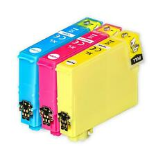 3 C/M/Y Ink Cartridges to replace Epson T1292, T1293, T1294 non-OEM/Compatible