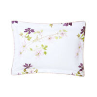 YVES DELORME | CLEMATIS PILLOWCASE 300TC EGYPTIAN COTTON 60% OFF RRP