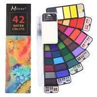 Watercolor Paint Set, Artist Professional Foldable Watercolor Paint Set