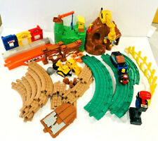 Fisher Price Geotrax Lot Construction Set Tracks