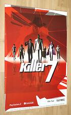 Killer7 Game Store Display Standee Capcom Playstation 2 Gamecube 63x44cm