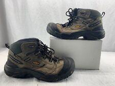 KEEN Utility 1011243 Mens Braddock Mid Steel Toe Boot Gargoyle Forest 11.5 D