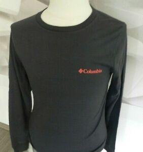 COLUMBIA Shirt Herren Longsleeve Langarmshirt Navy Gr.S wNEU!