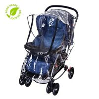 [Weather Shield] Universal Rain Cover for Pushchair Stroller Baby Buggy Pram US