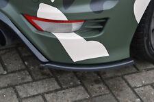 Heckansatz Diffusor Spoilerecken Seitenteile Splitter ABS für Ford Focus RS DA3