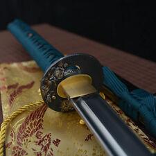 hand made full tang 1060 carbon steel blade japanese Katana samurai sword sharp