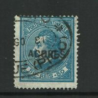 Azores SC# 42a Used / Perf 13.5 - S797