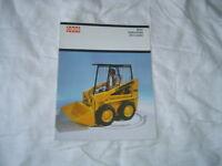 Case 1830 hydrostatic uni-loader brochure