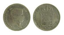 100) Napoli Due Sicilie Ferdinando II (1830-1859) Mezza Piastra 60 grana 1848
