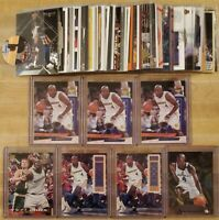 Chris Webber Lot of 64 Basketball Cards - Multiple Rookies and Inserts
