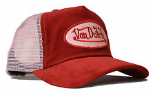 De van Dutch Mesh Trucker base cap [Cord red/Pink] sombrero gorra basecap capuchón vo