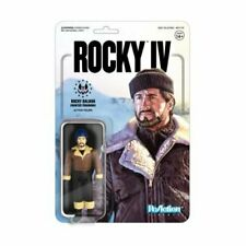 Rocky IV Rocky Balboa Winter Training Reaction Figure Super7 MOC Stallone