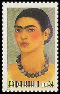 US 3509 Legends of Hollywood Frida Kahlo 34c single (1 stamp) MNH 2001