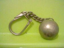 METALIC FOOTBALL BALL KEYRING LLAVERO 60´S RARE