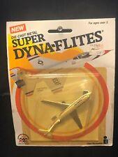 Zee Toys Vintage 1982 Super Dyna-Flites Boeing 727 Delta Airlines