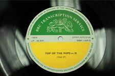 BBC 32 Transcription Disc Beatles Yardbirds Marianne Faithfull Top of the Pops