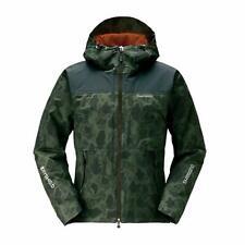 SHIMANO Winter Clothes DS Explorer Warm Fishing Jacket RB-04JS Black Camo