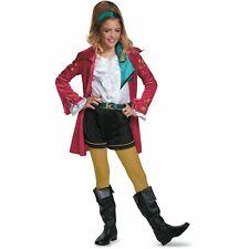 Disney Descendants Cj Costume Wicked World Girls Size 4-6 Small Dress Up New