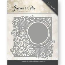 Jeanine's Art - Christmas Tree Frame - Cutting Embossing Dies JAD10005