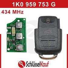 Volkswagen Golf 5 Klappschlüssel Gehäuse Fernbedienung 434 mhz 1K0 959 753 G Neu