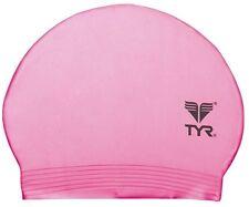 New Light Pink TYR Latex Swim Cap